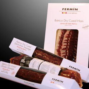 Food Gift | Spanish Food Gift | Gourmet meats | Cured meat | Chorizo | Salchichon | Spanish Ham