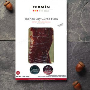 Sliced Iberico Ham | Jamon Iberico en lonchas | Cured Meat | Fermin Iberico |