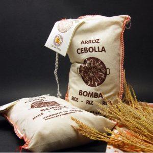 Arroz Bomba Cebolla